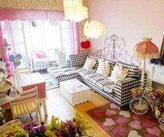 粉红色田园温馨小家