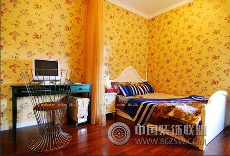 欧式混搭风格 超温馨家居-卧室装修效果图-八六