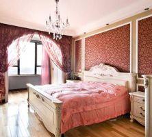 华丽家居 粉色卧室风格