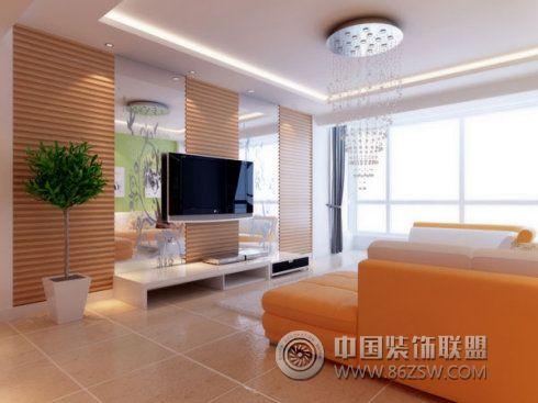 现代简约居家装饰 客厅装修效果图 八六 中国 装饰联盟装