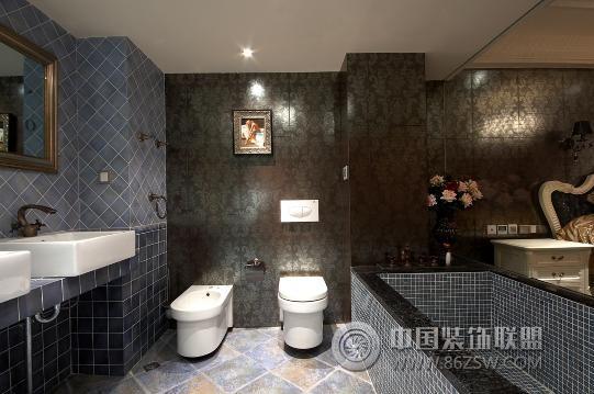 欧式个性装修风格设计-卫生间装修效果图-八六(中国)