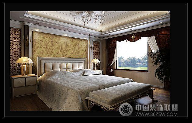 翰园欧式别墅设计风格欧式卧室装修图片