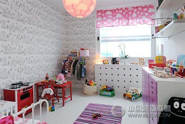 北欧公寓设计 时尚大气 儿童房装修效果图 八六装饰网装修