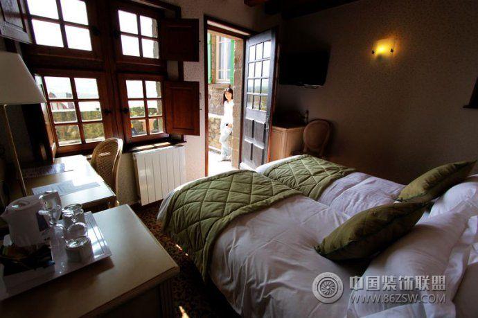 魔法城堡的古建筑欧式卧室装修图片