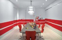 艳丽色彩魅力十足餐厅设计