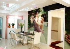 清新时尚浪漫婚房设计