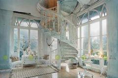 别墅绝佳旋转楼梯