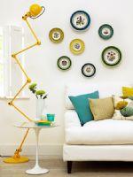 黄、绿、蓝打造清新家居