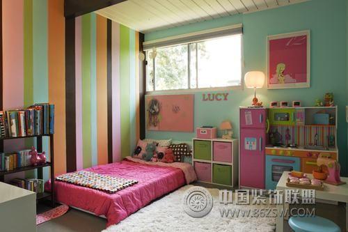 甜美可爱卧室设计-卧室装修图片