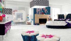 奢华多彩卧室设计