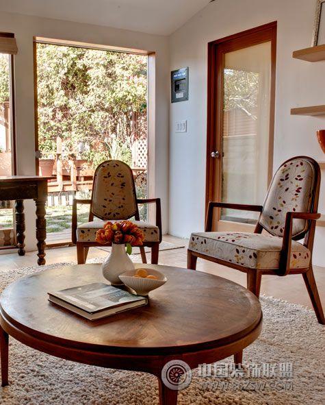 西班牙艺术家的老别墅-客厅装修效果图-八六装饰网