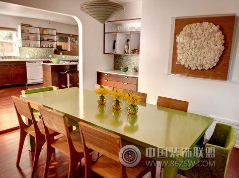 西班牙艺术家的老别墅 餐厅装修效果图 www.86zsw.com高清图片