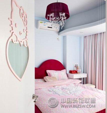 kitty精致可爱美家生活现代卧室装修图片