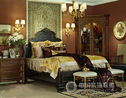 贵族气息 佛罗伦萨卧室设计整套大图展示
