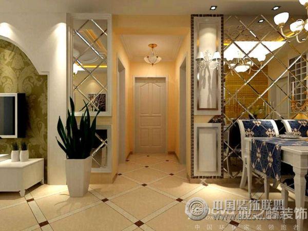 86平米两室一厅欧式装修风格