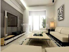 白色的温馨家装现代风格大户型