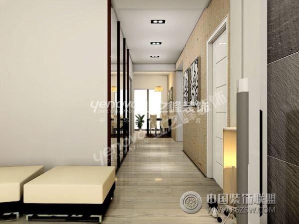 色的温馨家装 过道装修效果图 www.86zsw.com高清图片