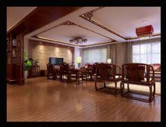 中式古典家装风格中式风格大户型