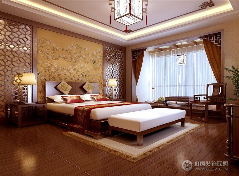 欧式壁炉更显新古典历史与文化的韵味,卧室金色,香槟色作为画龙点晴之