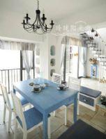 蓝白调地中海风格美家