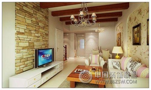 美式客廳裝修圖片; 新美式鄉村風格別墅美式風格客廳
