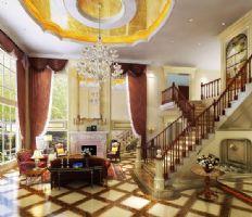 财富公馆中式风格别墅