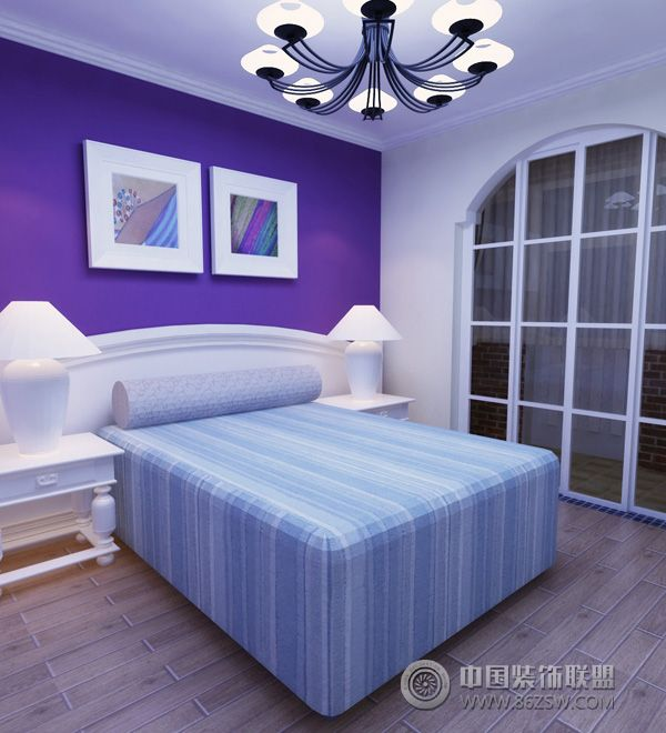欧式家装设计图-卧室装修图片