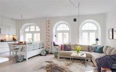 混搭迷人客厅设计风格