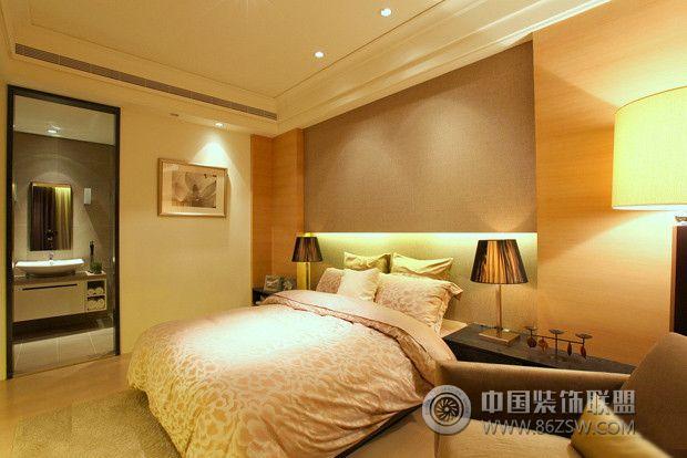200平米大空间的极简奢华家居 卧室装修效果图 八六装饰网