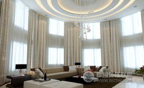 现代时尚客厅设计风格 卧室装修效果图 www.86zsw.com