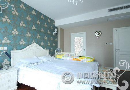 浪漫公主房的法式田园风格家居 卧室装修效果图