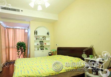 浪漫公主房的法式田园风格家居-卧室装修效果图-八六