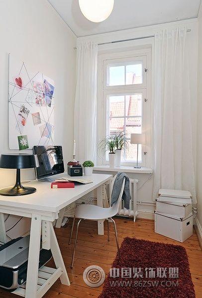 创意书桌设计 增添创意生活欧式书房装修图片