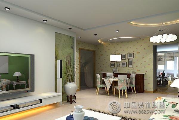 客厅背景图片搜集 现代风格装修效果图 八六装饰网装修效