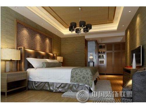中式风格之宾馆装修效果 单张展示 宾馆装修效果图