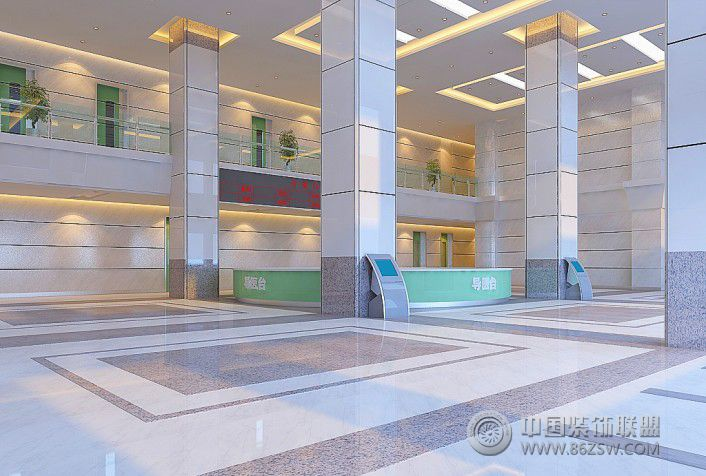 深圳中医院装修效果 单张展示 医院装修效果图