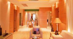 10万装122平米橙色浪漫婚房