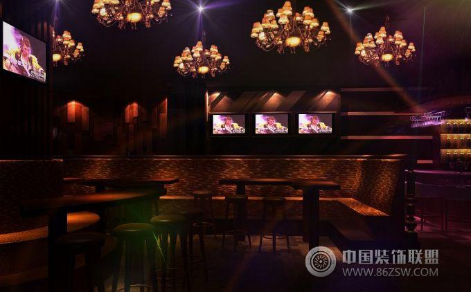 大型酒吧 活力无限现代酒吧装修图片