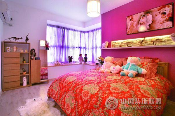 小夫妻8万装修婚房简约卧室装修图片