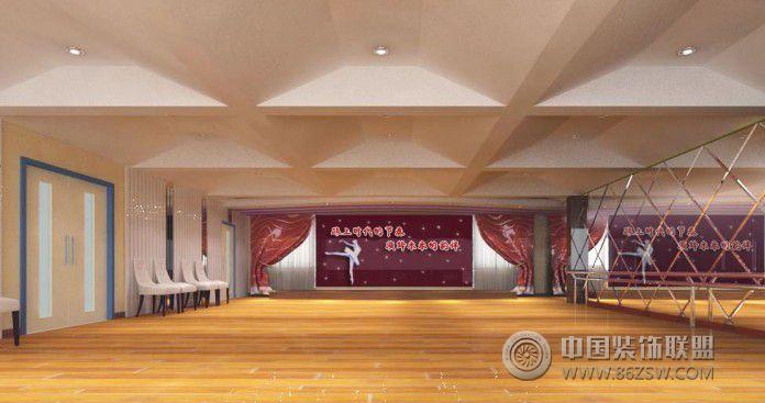 学校舞蹈厅 单张展示 学校装修效果图 八六装饰