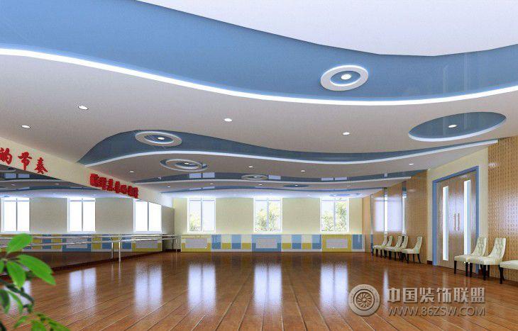 舞蹈厅-单张展示-学校装修效果图-八六(中国)装饰图片