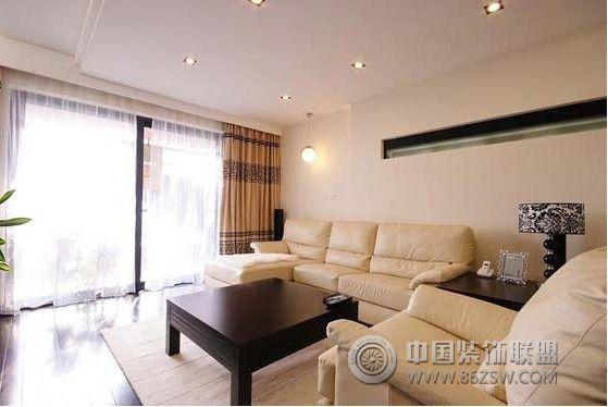 12万装125平米简约时尚三居-客厅装修图片