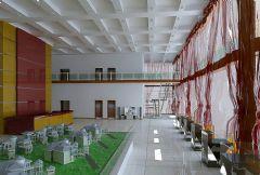 现代售楼中心大厅