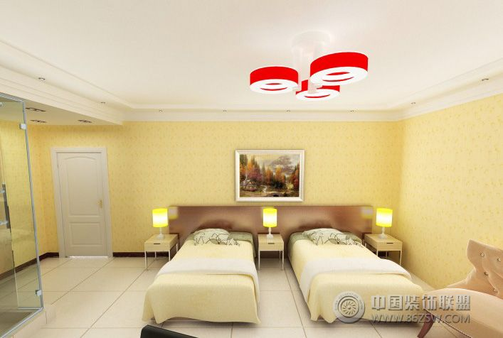 旅店小型卧室装修图