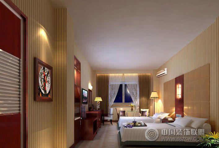 欧式宾馆装修效果-单张展示-宾馆装修效果图-八六()