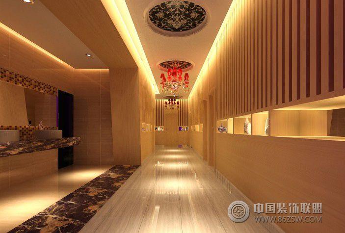 景平商务宾馆现代宾馆装修图片