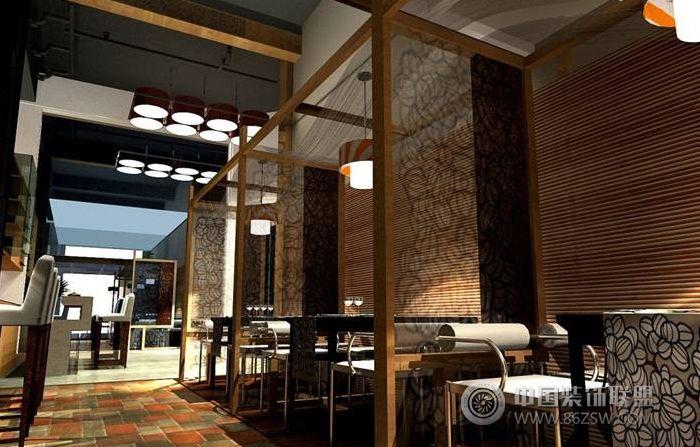 云南茶室-單張展示-茶館裝修效果圖-八六(中國)裝飾