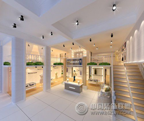商场服装店整套大图展示_服装店装修效果图_八六(中国