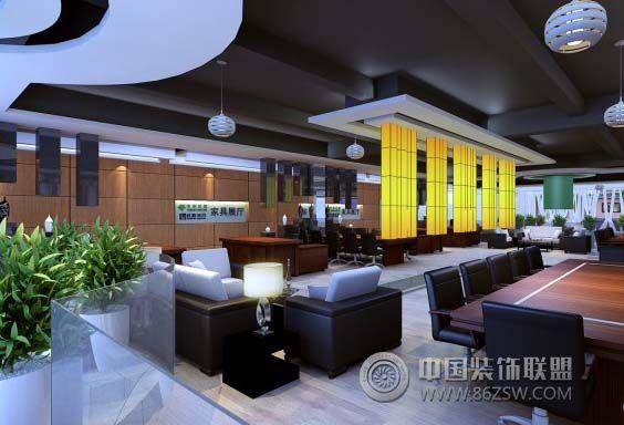 超大型家具展厅 单张展示 展厅装修效果图