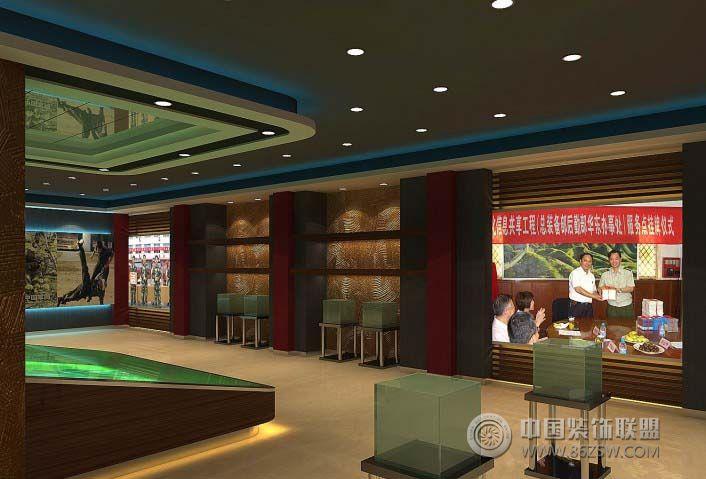部队展示厅 展厅装修效果图 www.86zsw.com